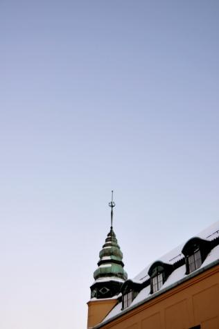 The sky over Uppsala
