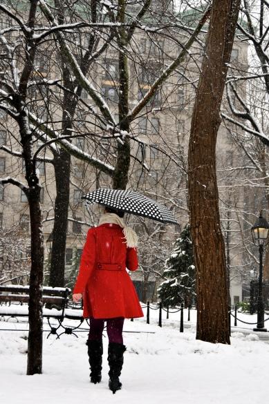 Winter in New York.